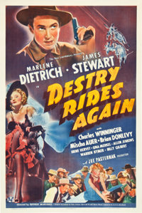 "Destry Rides Again (Universal, 1939). One Sheet (27"" X 41"")"
