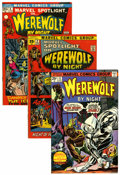 Bronze Age (1970-1979):Horror, Werewolf by Night Group (Marvel, 1971-75) Condition: Average VG....(Total: 42 Comic Books)