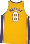 Basketball Collectibles:Uniforms, Kobe Bryant Signed Jersey (Rare Full Name Signature)....