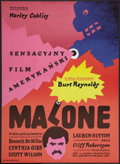 """Movie Posters:Action, Mr. Majestyk Lot (United Artists, 1974). Polish One Sheet (23"""" X 32.5"""") & Polish B1 (26.5"""" X 37""""). Action.. ... (Total: 2 Items)"""