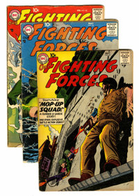 Our Fighting Forces Group (DC, 1957-61) Condition: Average VG-.... (Total: 18 Comic Books)