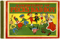 Peck's Bad Boy The Adventures of Peck's Bad Boy (Charles C. Thompson Co., 1906) Condition: FN