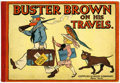 Platinum Age (1897-1937):Miscellaneous, Buster Brown On His Travels (Cupples & Leon, 1910) Condition:FN....