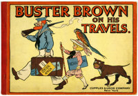Buster Brown On His Travels (Cupples & Leon, 1910) Condition: FN