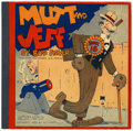 Platinum Age (1897-1937):Miscellaneous, Mutt and Jeff Book 18 (Cupples & Leon, 1933) Condition: FN+....