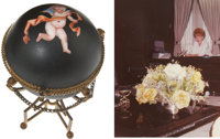 Lucille Ball's Round Egg Holder with Photo Match