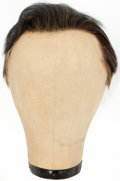 Movie/TV Memorabilia:Costumes, Marlon Brando's Costume Wig.... (Total: 2 Items)