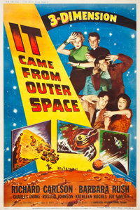 """It Came from Outer Space (Universal International, 1953). Poster (40"""" X 60"""")"""