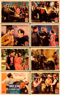 """Movie Posters:Western, The Range Feud (Columbia, 1931). Lobby Card Set of 8 (11"""" X 14"""").. ... (Total: 8 Items)"""