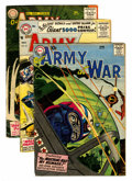 Silver Age (1956-1969):War, Our Army at War Group (DC, 1954-61) Condition: Average GD/VG.... (Total: 17 Comic Books)