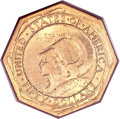 Commemorative Gold, 1915-S $50 Panama-Pacific 50 Dollar Octagonal MS64 PCGS. CAC....