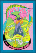 "Movie Posters:Animated, Fantasia (Buena Vista, R-1970). One Sheet (28"" X 41""). Animated.. ..."