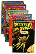 Golden Age (1938-1955):Science Fiction, Mystery in Space #13-17 Group (DC, 1953).... (Total: 5 Comic Books)