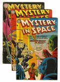 Golden Age (1938-1955):Science Fiction, Mystery in Space #22-29 Group (DC, 1954-56).... (Total: 8 ComicBooks)
