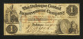 Obsoletes By State:Iowa, Dubuque, IA- Dubuque Central Improvement Company $1 Dec. 23, 1857 ....