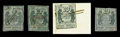 Stamps, (11X1, 11X2, 11X5, 11X8) St. Louis, Mo., starter set of four different...
