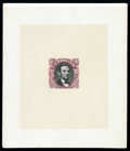Stamps, (112P1//129P1) 1869, 1¢-90¢ Pictorial issue, hybrid large die proofs...