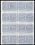 Stamps, (OX2, OX2b) Canal Zone, Post Office Seal, 1941, ultramarine...