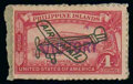 """Stamps, (C63) Philippines, Airmail, 1944, 4c rose carmine, handstamped """"VICTORY"""" in violet..."""