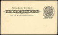 Stamps, (UX1A) Puerto Rico, Postal Card, 1899, 1¢ Jefferson...