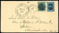 Stamps, (32) Hawaii, 1866, 5¢ blue...