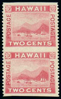 Stamps, (81b) Hawaii, 1899, 2¢ rose, imperf horizontally...