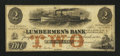 Obsoletes By State:Iowa, Dubuque, IA- Lumbermen's Bank (E.L. Fuller) $2 Sept. 1, 1857 . ...