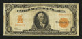 Large Size:Gold Certificates, Fr. 1168 $10 1907 Gold Certificate Very Good.. ...