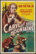 "Movie Posters:Action, Caryl of the Mountains (Reliable Pictures, 1936). One Sheet (27"" X41""). Action.. ..."