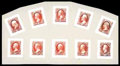 Stamps, (O15P2-O24P2) Interior Dept., 1873, 1¢-90¢ complete, small die proofs...