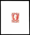 Stamps, (O83P1-O93P1) War Dept., 1873, 1¢-90¢ complete, large die proofs...