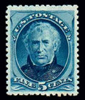 Stamps, (185) 1879, 5¢ blue...