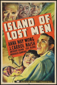 """Island of Lost Men (Paramount, 1939). One Sheet (27"""" X 41""""). Mystery"""