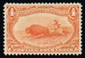 Stamps, (287) 1898, 4¢ Trans-Miss....