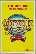"""Movie Posters:Action, Corvette Summer (MGM, 1978). One Sheet (27"""" X 41"""") Advance. Action.. ..."""