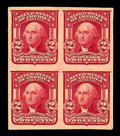 Stamps, (320a) 1906, 2¢ lake, type II, imperf...