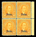 Stamps, (669-679) 1929, 1¢-10¢ Nebr. set complete...