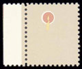Stamps, (1610a) 1979, $1 Lamp, brown (engraved) omitted...