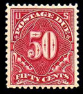 Stamps, (J50) Postage Due, 1915, 50¢ deep claret...