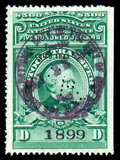 Stamps, (RD161) Stock Transfer, 1943, $500 Dix...