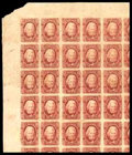 Stamps, (8) Confederacy, 1863, 2¢ brown red...