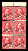 Stamps, (214b) Philippines, 1899, 2¢ red...