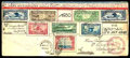 Stamps, United States, 1930 Pan American Flight...