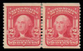 Stamps, (322) 1908, 2¢ carmine coil...