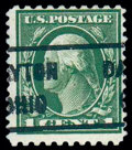 Stamps, (423D) 1914, 1¢ green, perf 10x12...