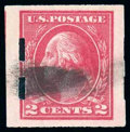 Stamps, (482A) 1920, 2¢ deep rose, type Ia, imperf...