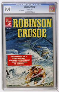 Robinson Crusoe #1 (Dell, 1963) CGC NM 9.4 Off-white pages