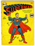 Golden Age (1938-1955):Superhero, Superman #11 (DC, 1940) Condition: GD/VG. Fred Ray cover. Overstreet 2006 GD 2.0 value = $237; VG 4.0 value = $474....