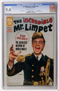 Silver Age (1956-1969):Humor, Movie Classics: The Incredible Mr. Limpet (Dell, 1964) CGC NM 9.4 Cream to off-white pages....