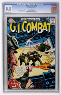 Silver Age (1956-1969):War, G.I. Combat #106 (DC, 1964) CGC VF+ 8.5 Off-white pages....